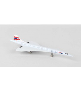 British Airways Concorde single plane