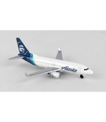 Daron Alaska Airlines B737 Single Plane New Livery
