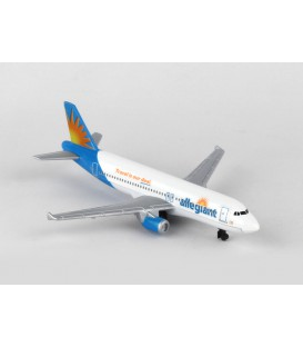 Allegiant Airlines A320 Single Plane toy