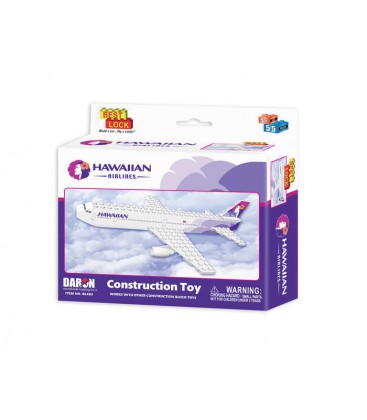 Hawaiian Airlines 55pc Construction Toy