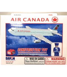 Air Canada 66pc Construction toy