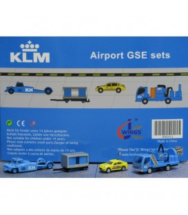KLM Ground Support Equipment set 2 1:200