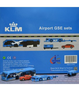 KLM Ground Support Equipment set 3 1:200