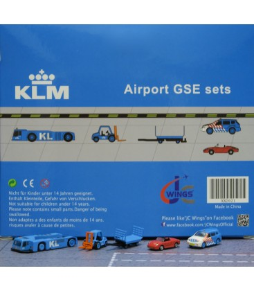 KLM Ground Support Equipment set 1 1:200