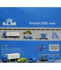 KLM Ground Support Equipment set 4 1:200