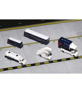 Delta Air Lines Airport Support Equipment and Trucks 1:200