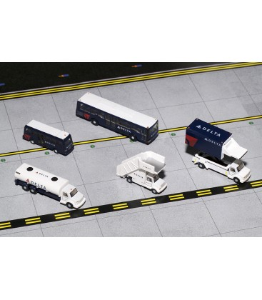 Delta Airlines Airport Support Equipment and Trucks 1:200