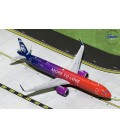 "Alaska Airlines Airbus A321 NEO ""More to Love"" 1:400"